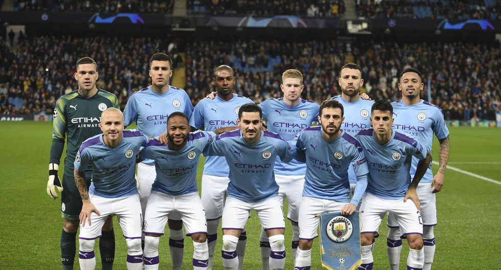 Manchester City con 24 Jugadores en el plantel cuesta 1393.91 Millones de dólares (Foto: AFP)