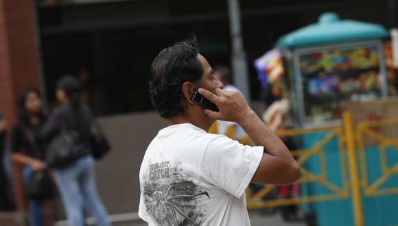 Según Nakagawa, el mínimo debería ser 3G. (Foto: César Fajardo   GEC)
