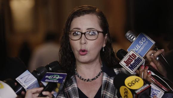 La congresista Rosa Bartra renunció a Fuerza Popular y postula a la reelección por Solidaridad Nacional