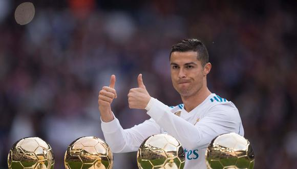 FOTO 3   Cristiano Ronaldo, futbolista portugues de 33 años con ganancias totales de US$ 108 millones, incluyendo US$ 61 millones en sueldos y bonificaciones.  (Foto: AFP)
