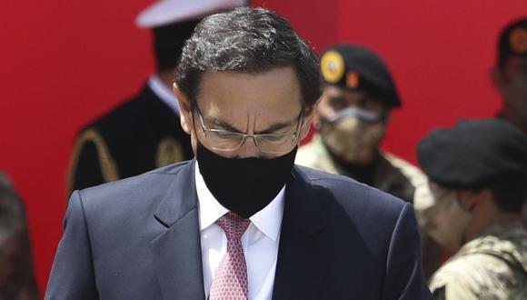 Martín Vizcarra no podrá asumir el cargo de congresista tras ser inhabilitado por 10 años por el Parlamento. (Foto: GEC)