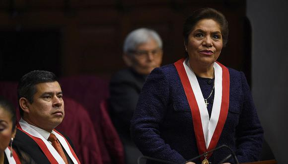 Luis Galarreta y Luz Salgado fueron los presidentes del Congreso en los años 2017 y 2018, respectivamente. (Foto: GEC)