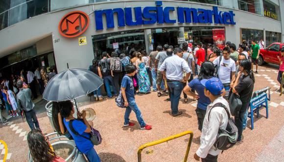 En los últimos años, Music Market ha tenido crecimiento de ventas anuales entre 10% y 15%. (Foto: Music Market)