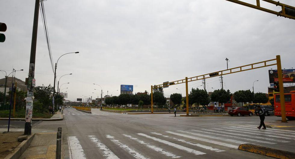 El estado de emergencia impuesto por el Gobierno peruano desde el 15 de marzo para combatir el Covid-19 prohíbe, entre otras cosas, la libre circulación de vehículos para evitar que el coronavirus se propague aún más en todo el país. (Foto: GEC)
