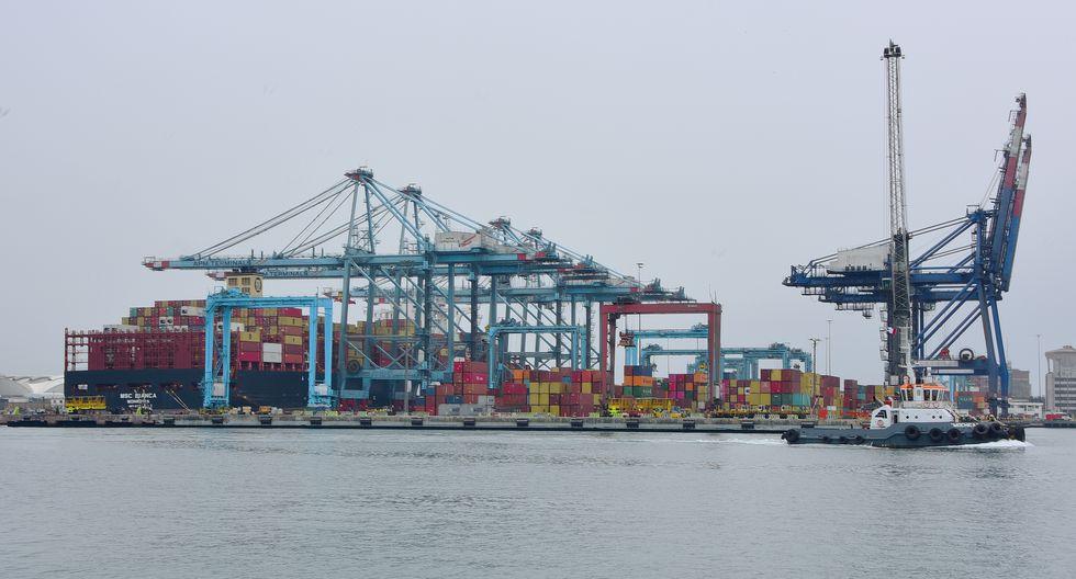Con la adenda firmada se procederá a la extensión del muelle del puerto del Callao de los 650 metros actuales a 960 metros. (Foto: MTC)