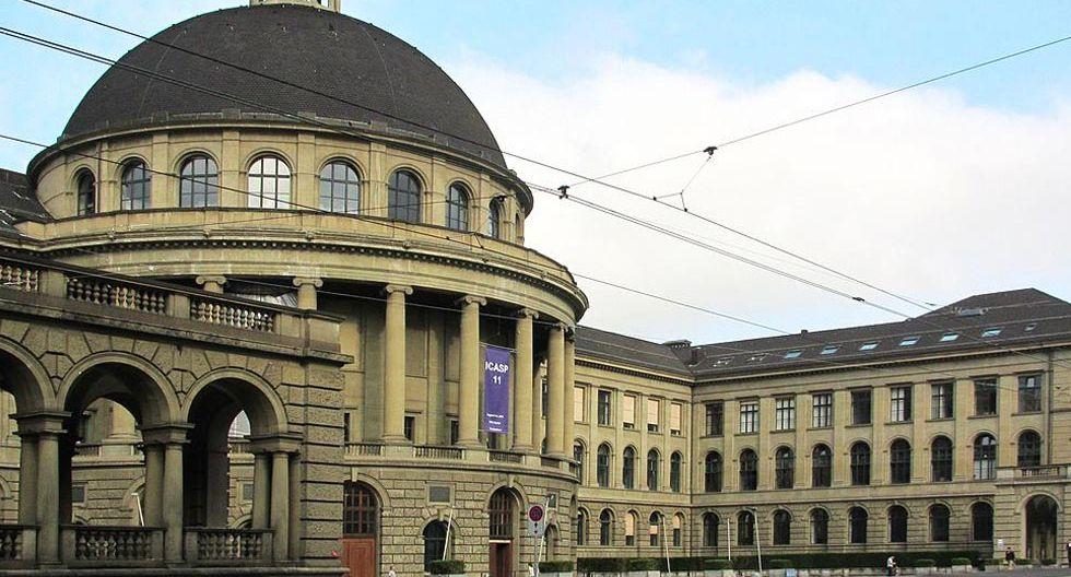 FOTO 5   Instituto Federal Suizo de Tecnología -ETH Zúrich - Suiza - Puesto 4