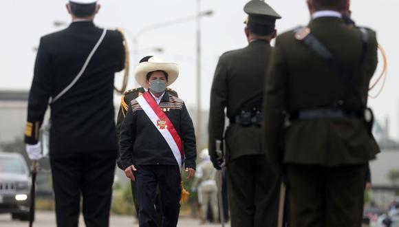 El presidente Pedro Castillo fue reconocido como jefe supremo de las Fuerzas Armadas. (Foto: Andina)