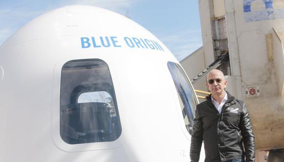 El fundador de Amazon.com Inc., Jeff Bezos, tiene los recursos para ir al espacio. (Bloomberg)
