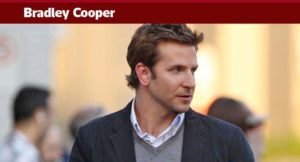 Los únicos resacones que tendrá Bradley serán en el cine ya que, desde el 2012, el actor no toca el alcohol.