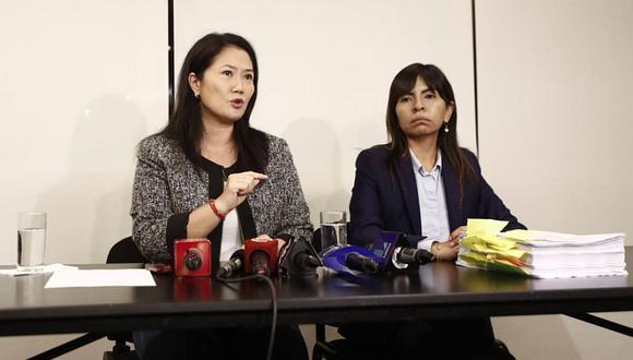 """Loza consideró que """"la obsesión de estos fiscales con Keiko Fujimori será un caso de largo estudio en las facultades de Derecho"""". (Foto: GEC)"""