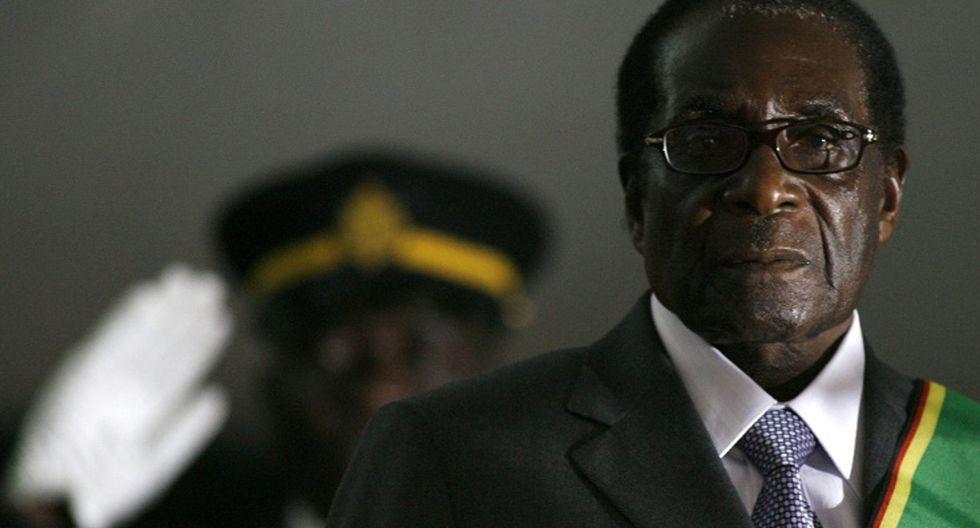 FOTO 9 |ROBERT MUGABE El expresidente de Zimbabue murió el 6 de septiembre a los 95 años.  (Foto: AFP)
