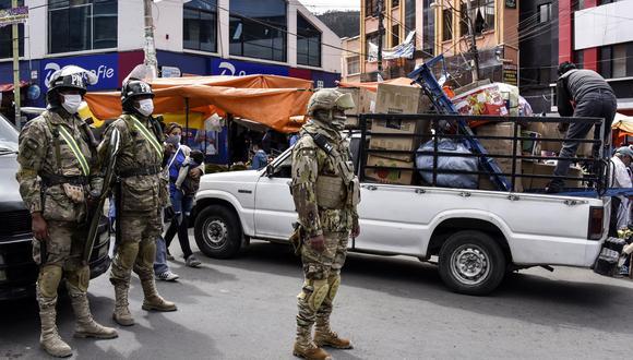 Hasta el viernes Bolivia ha registrado 1,979 casos positivos y 102 decesos. (Foto: AFP/Aizar Raldés)