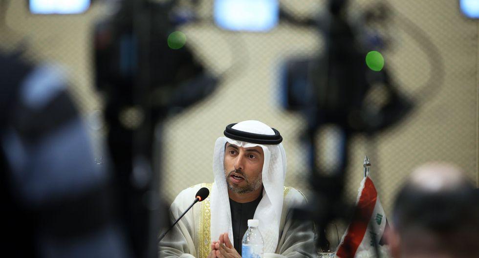 Suhail al-Mazrouei , presidente de la OPEP. (Foto: AFP)