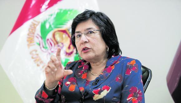 Marianella Ledesma, así como Manuel Miranda, votaron en contra de la posición de Telefónica. (Foto: César Campos/GEC)