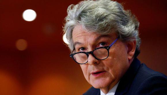 Thierry Breton, comisario europeo de Mercado Interior. (Foto: Reuters)