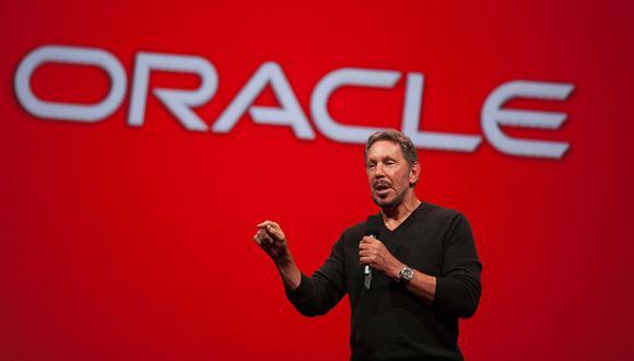 Puesto 2: Larry Ellison. Cofundó en 1977 la compañía de software Oracle. Su riqueza es de US$ 65.22 mil millones. (Foto: AFP)