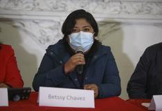 """Betssy Chávez sobre Asamblea Constituyente: """"Sí es una prioridad de carácter nacional"""""""