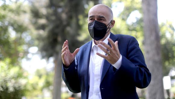 El ministro del Ambiente, Gabriel Quijandría. (Foto: Lino Chipana/GEC)