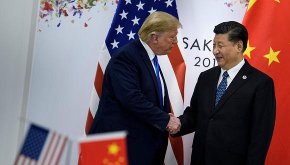 29 de junio del 2019. La Casa Blanca permitirá a las empresas estadounidense que vendan productos al fabricante chino Huawei, anunció Donald Trump. (Foto: AFP)