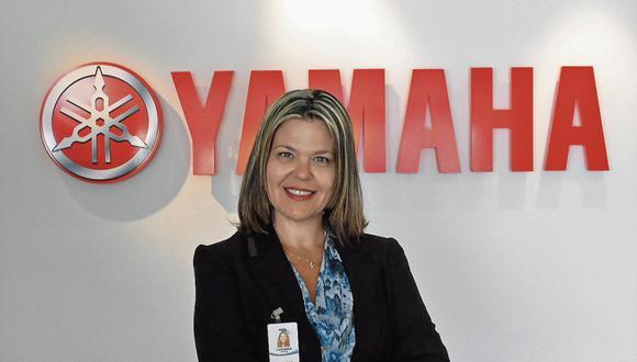 Recorrido. Luciana Assis trabaja en el grupo Yamaha desde hace 24 años.