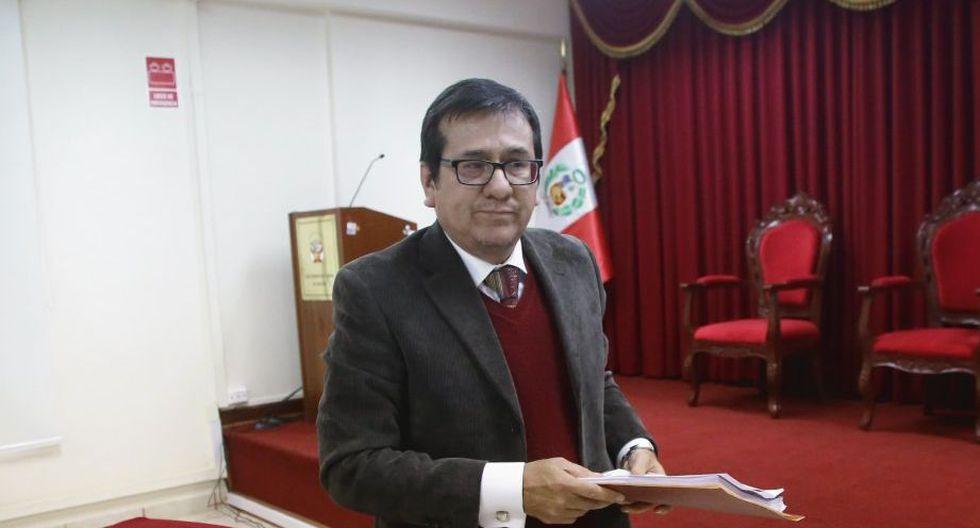 Marco Cerna Bazán, además del audio con César Hinostroza, habría tratado de borrar sus evidencias e impedir que su audio sea difundido por los medios de comunicación. (Foto: Difusión)