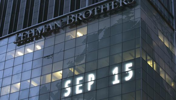 El 15 de septiembre se cumplen 10 años de la caída del banco Lehman Brothers. (Foto: AP)