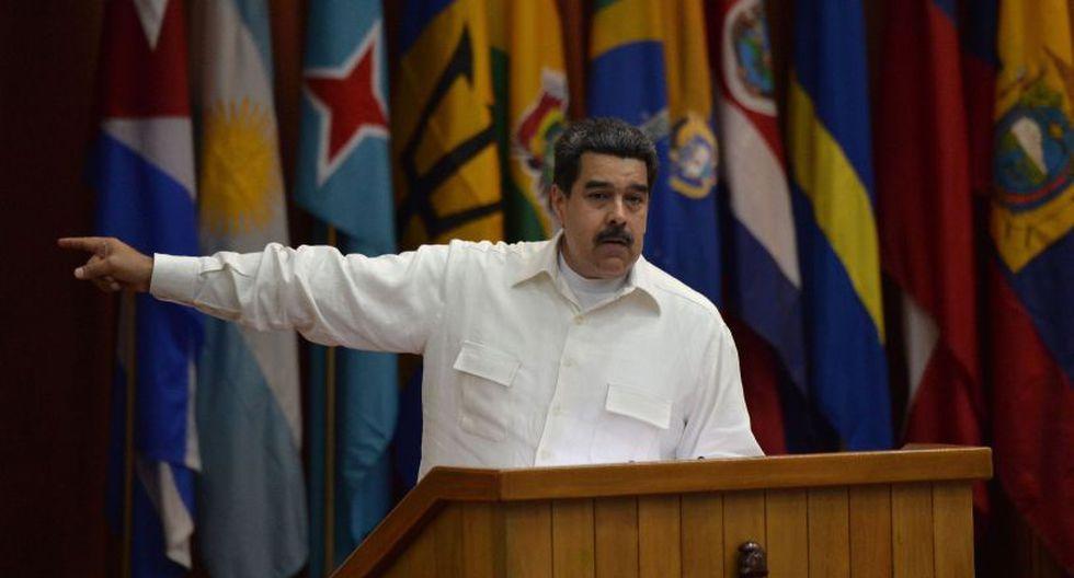 Maduro aseguró que no pretende aprenderse el nombre del presidente Iván Duque. (Foto: AFP)