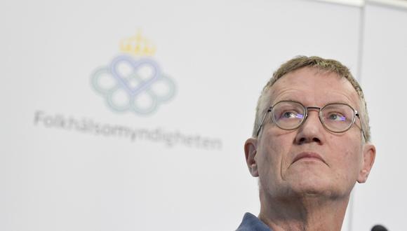 Anders Tegnell, responsable de la Agencia de Salud Pública de Suecia. (EFE)