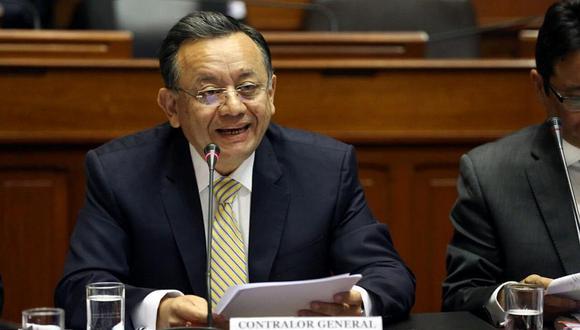 El excontralor Edgar Alarcón ha sido denunciado por la presunta comisión del delito de cohecho pasivo propio. (Foto: GEC)