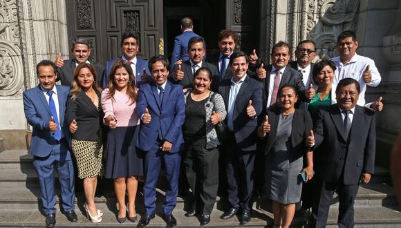 La bancada de APP ratificó que no participará de la comisión especial de elección de magistrados del Tribunal Constitucional. (Foto: Andina)