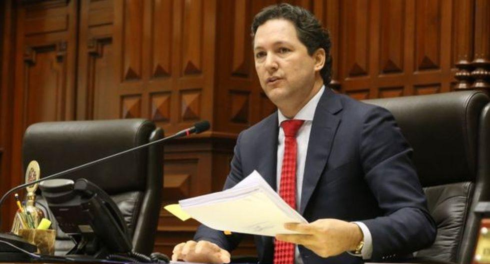 Daniel Salaverry había presentado su acción de ampar el 29 de mayo. (Foto: GEC)