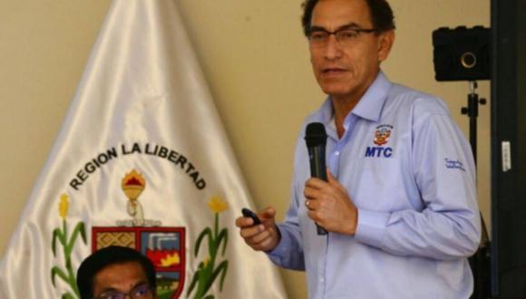 El pasado 18 de octubre, Vizcarra, reiteró en diálogo con el mismo programa que no conoce al empresario Antonio Camayo. (Foto: Andina)