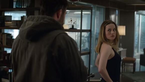 """""""Avengers: Endgame"""": lanzan nuevo tráiler de la película con la aparición de 'Capitana Marvel'. (Foto: Captura de video)"""