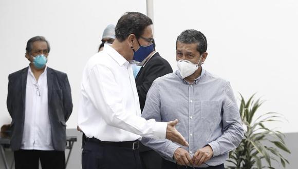 Germán Málaga negó tener poder de decisión sobre quién se vacunaba, en alusión al expresidente Martín Vizcarra. (Foto:: GEC)