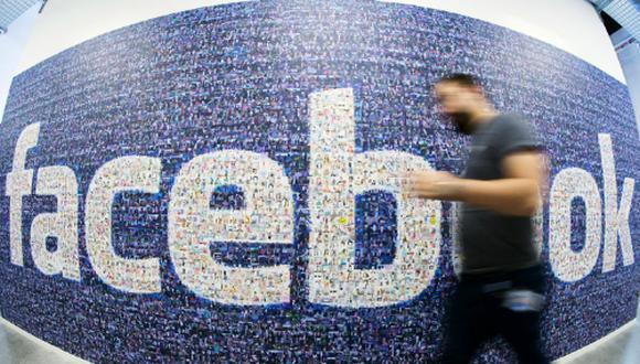 Facebook se encuentra flanqueado por LinkedIn y Google en el ránking. (Foto: AFP)