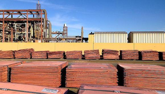 El precio del cobre operaba al alza este martes. (Foto: Reuters)