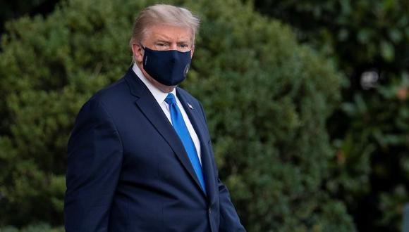 China es una de las tres únicas naciones extranjeras, las otras son Gran Bretaña e Irlanda, donde Trump mantiene una cuenta bancaria, según un análisis de los registros fiscales del presidente, que fueron obtenidos por The New York Times. (EFE/EPA/Sarah Silbiger).