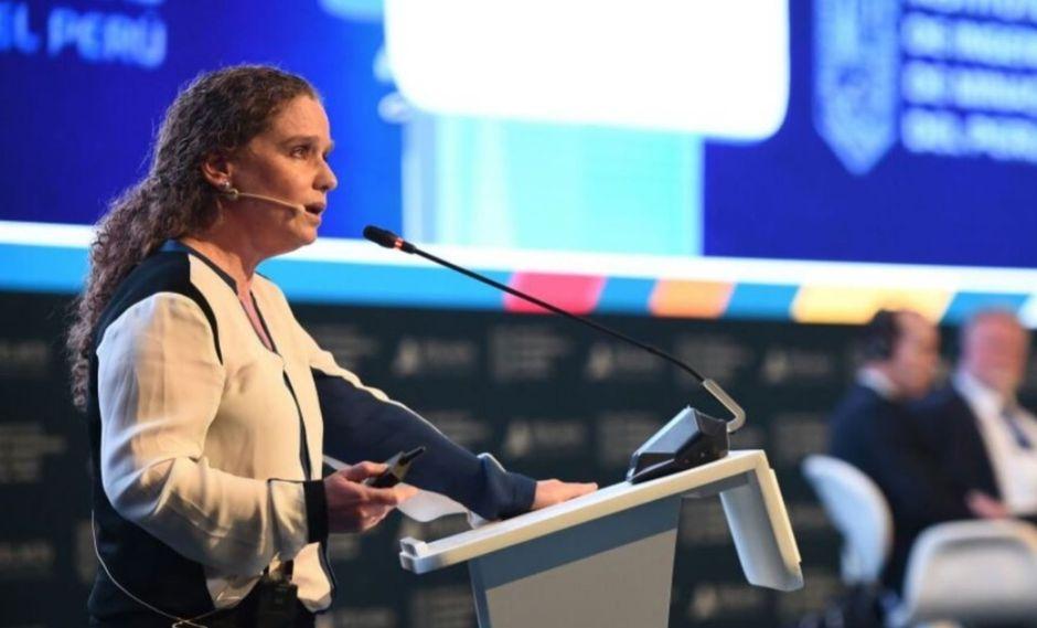 """Claudia Cooper participará en dicho encuentro internacional como panelista sobre el tema """"Implementando Estrategias para un Crecimiento Inclusivo"""" (Foto: Andina)."""