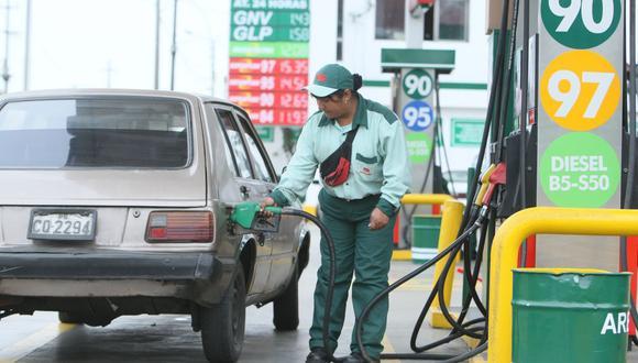 MEF señala que cuentan con una política para atenuar la inflación internacional de los precios de combustibles. (FOTO: GEC)