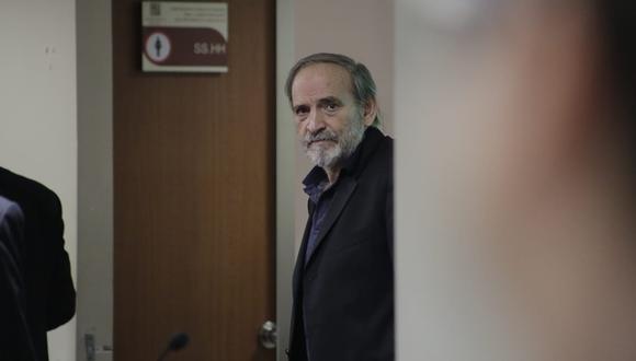 """""""Voy a cumplir con todo lo que me pide la fiscalía, lo más complicado es que la fiscalía dice que soy parte de una organización criminal y eso duele"""", señaló Simon.  (Foto: César Zamalloa/ GEC)"""