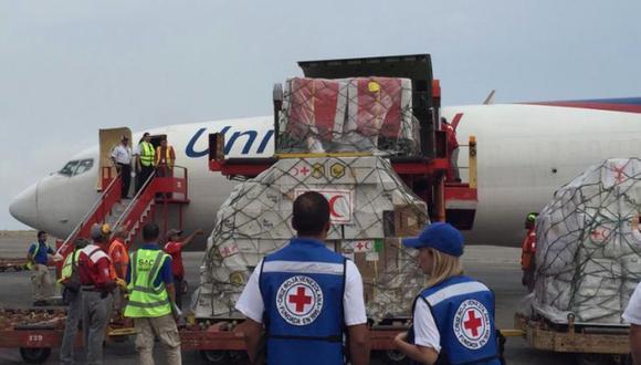 El régimen y el CICR acordaron trabajar conjuntamente con los organismos de la ONU para traer a Venezuela toda la ayuda de carácter humanitario. (Foto: Twitter - @NTN24ve)