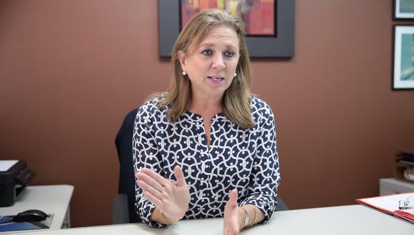 María Isabel León, presidenta de la Confiep, consideró que la inversión privada podría desacelerarse por la situación política del país. (Foto: GEC)