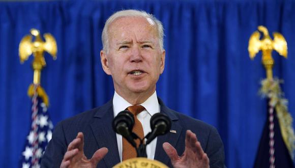 El presidente de Estados Unidos, Joe Biden. (Foto: AP).