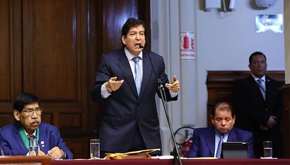 La Subcomisión de Acusaciones Constitucionales del Congreso aprobó a Iván Noguera por los delitos de organización criminal, cohecho, patrocinio ilegal y tráfico de influencias. (Foto: GEC)