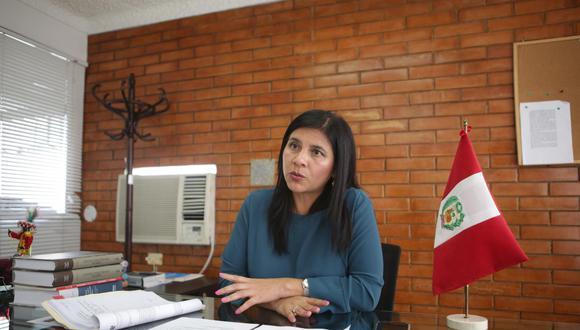 Silvana Carrión, procuradora ad hoc del caso Lava Jato, señaló que hay una segunda empresa que se ha acogido como colaboradora eficaz por el caso Club de la Construcción. (Foto: GEC)