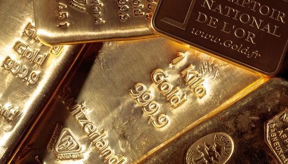 Los futuros del oro en Estados Unidos caían un 0.5% a US$ 1,691.40 la onza. (Foto: AFP)