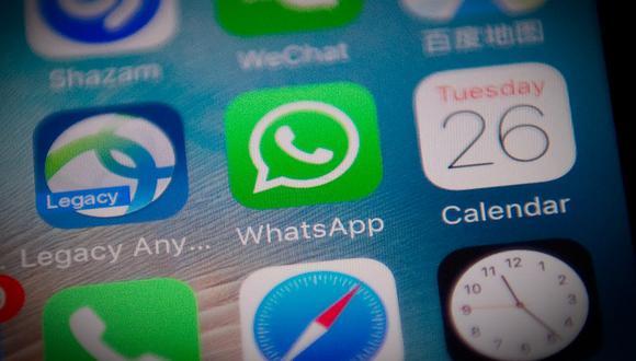 Conozca los cambios que WhatsApp implementó con su última actualización. (Foto: AFP)