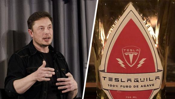 Las imágenes muestran una botella brillante con forma de rayo, muy diferente a lo que Musk adelantó cuando promocionó su tequila. (Foto: Getty)