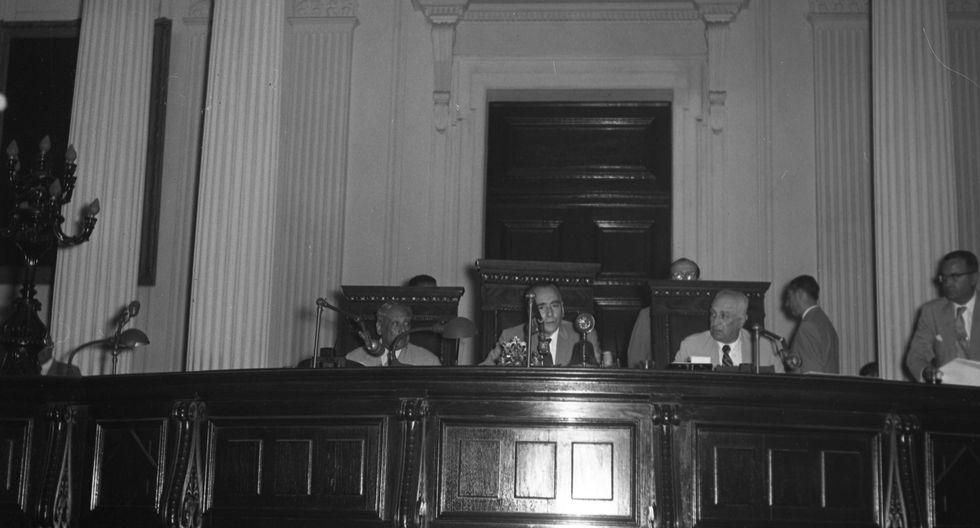 La Cámara de Senadorestenía facultades administrativas y ratificaba nombramientos. (Foto: Archivo El Comercio)