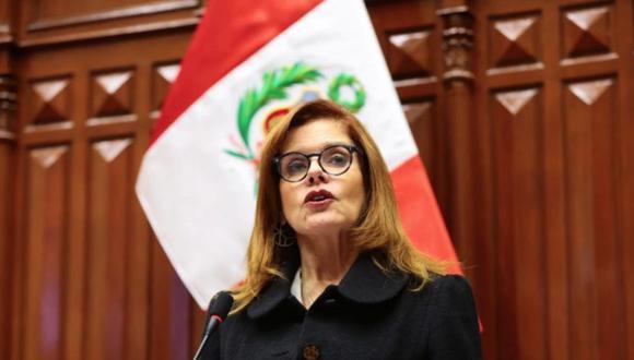 """Araoz consideró que el Poder Ejecutivo """"ha estado haciendo un esfuerzo enorme"""" por enfrentar a la crisis sanitaria producto del coronavirus (COVID-19). (Foto: Congreso de la República)"""